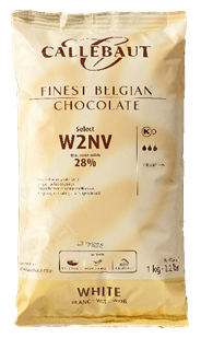 Callebaut Witte chocolade callets 28% cacao (recept nr. W2) 1 kg