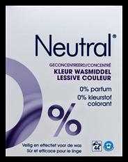 Neutral Wasmiddel kleur poeder 3 kg 44 wasbeurten