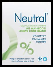 Neutral Wasmiddel wit poeder 3 kg 44 wasbeurten