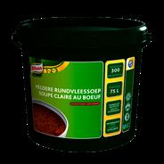 Knorr 1-2-3 Heldere rundvleessoep in grootverpakking 3 kg
