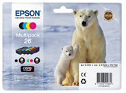 Epson T26164010 Inktcartridge multipack BCMY