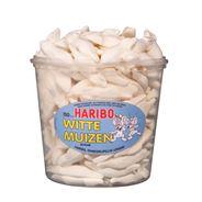 Haribo Witte Muizen Schuim 150 Pièces 1050 g