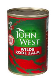 John West Wilde rode zalm 6 x 418 gram