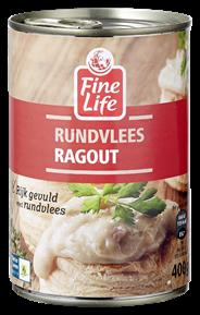 Fine Life Rundvlees ragout 12 x 400 gram