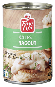 Fine Life Kalfs ragout 12 x 400 gram