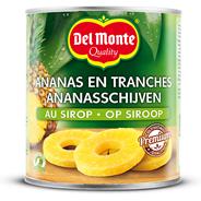 Del Monte Ananasschijven op siroop 6 x 836 gram