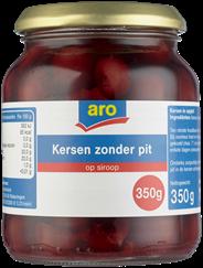Aro Kersen zonder pit 370 ml