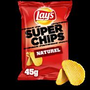 Lay's Super chips naturel 20 x 45 gram