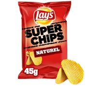 Lay's Super Chips Naturel 20 x 45 gram