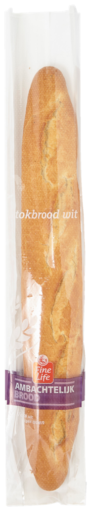 Fine Food Bake Off Stokbrood wit 400 gram