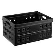 Sunware Square Vouwkrat 46 liter zwart
