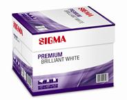 Sigma Premium brilliant white kopieerpapier A4 5 x 500 vellen