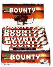 Bounty Puur 24 x 57 gram