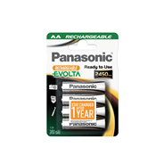 Panasonic Rechargeable batterijen AA 2450mAh 4 stuks