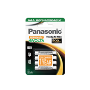 Panasonic Rechargeable batterijen AAA 900mAh 4 stuks