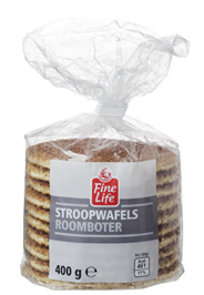 Fine Life Stroopwafels 400 gram