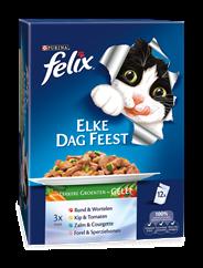 Felix Elke Dag Feest met Lekkere Groenten in Gelei 12 x 100 g
