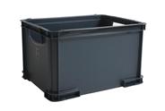 Tarrington House Opbergbox M 19 liter antraciet