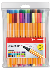 Stabilo Point 88 Fineliners 30 stuks