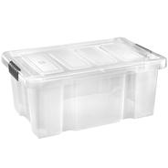 Tarrington House Opbergbox 45 liter transparant