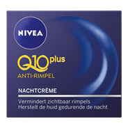 Nivea Q10plus Anti-rimpel energy Nachtcrème 50 ml