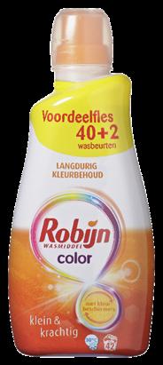 Robijn Wasmiddel Color 42 Wasbeurten