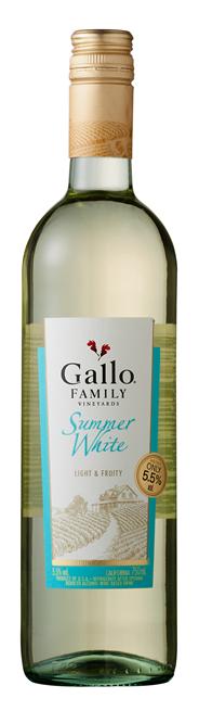 Gallo Family Vineyards Summer White 6 x 750 ml