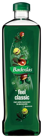 Badedas Badschuim Feel classic 1 liter