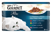 Purina Gourmet Perle mini filets in saus 4 x 85 gram