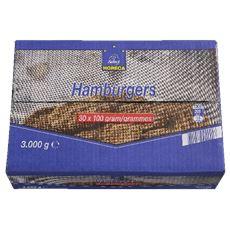 Horeca Select Hamburgers 30 x 100 gram