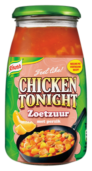 Knorr Chicken tonight zoetzuur