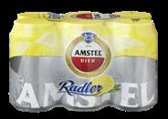 Amstel Radler Bier Citroen Blik 6 x 33 cl