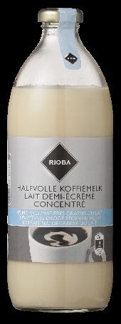 Rioba Koffiemelk halfvol 186 ml