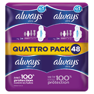 Always Ultra Maandverband long plus 48 stuks