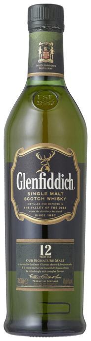 Glenfiddich 12 years old 6 x 700 ml