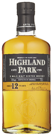 Highland Park Single malt 12 years 6 x 700 ml