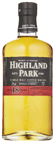 Highland Park Single malt 18 years 6 x 700 ml