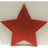Peha Hangfiguur ster rood glitter 38 cm