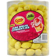 Candyman Zure bruis citroentjes 1,3 kg 200 stuks