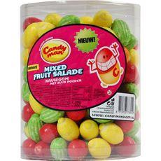 Candyman Mixed fruit salade 1,3 kg 200 stuks