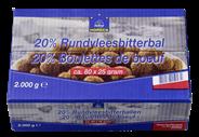 Horeca Select 20% Rundvleesbitterballen 80 x 25 gram