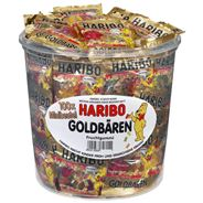Haribo Goudbeertjes 100 Minizakjes 980 g