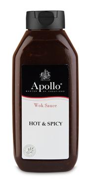 Apol woksaus hot&spicy 960m