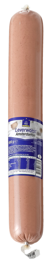 Horeca Select Amsterdam leverworst 1 kg