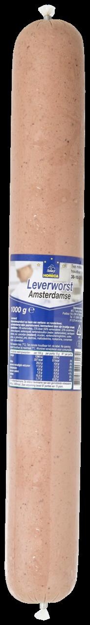 Horeca Select Leverworst  zonder spek 1 kg