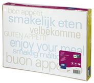 Tork Placemat 31 x 42 cm tekst 500 stuks