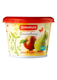 Zonnatura Zonnestroop peer & appel 300 gram