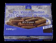 Horeca Select 25% Vleeskroket  32 x 70 gram