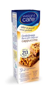 Weight Care Ontbijtreep Cappucino 2 stuks