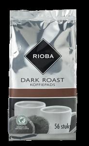 Rioba Koffiepads dark roast 56 stuks